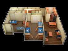 Cabernet Merlot 3D floor plan