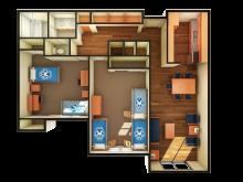 Cabernet Merlot floor plan