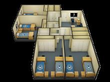 4 bedroom 3D